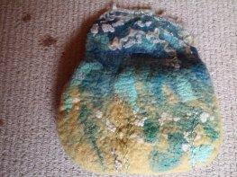 seashore felt purse wool silk shells 6 blythwhimsies 2015-12-01 14.59.34