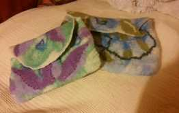 kindle cover and mobile phone cover hand felted a blythwhimsies 2016-01-19 22.19.41