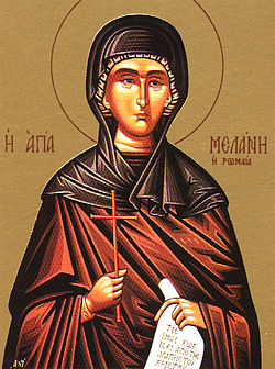 Преподобна Меланія Римлянка