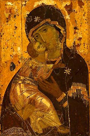 Вишгородська (Володимирська) ікона Божої Матері