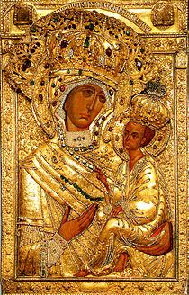 Тихвінська ікона Божої Матері