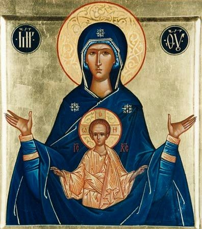 """Образ Божої Матері """"Знамення"""""""