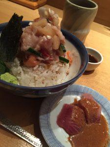 つじ半 海鮮丼とヅケ