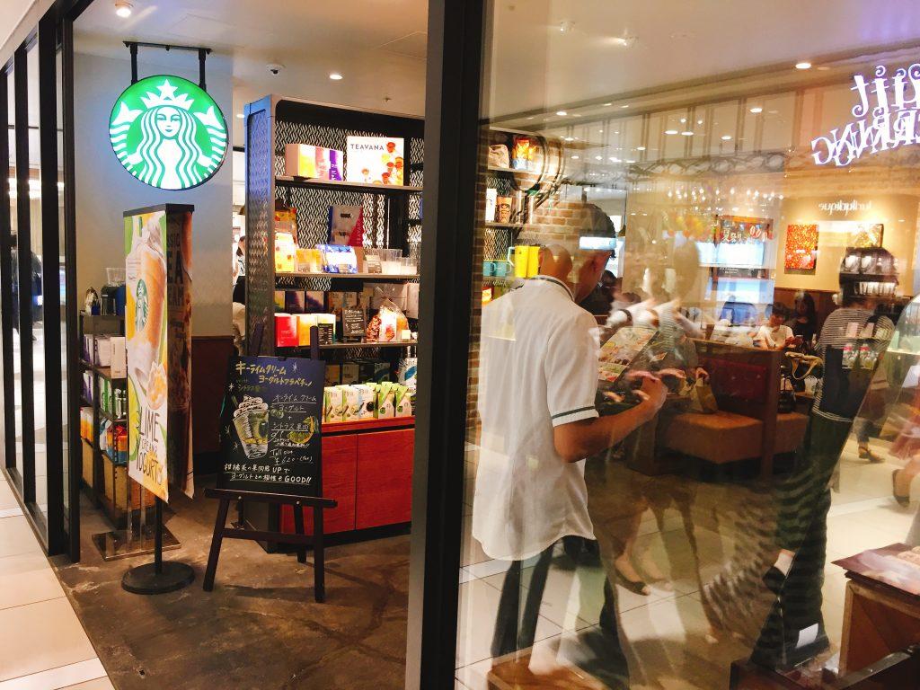 船橋駅 電源カフェ スターバックスコーヒー シャポー船橋店