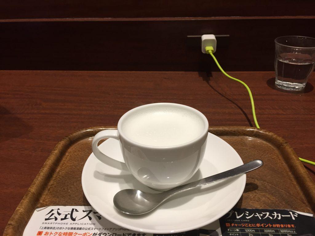 新宿南口 電源カフェ 上島珈琲店 新宿南口店