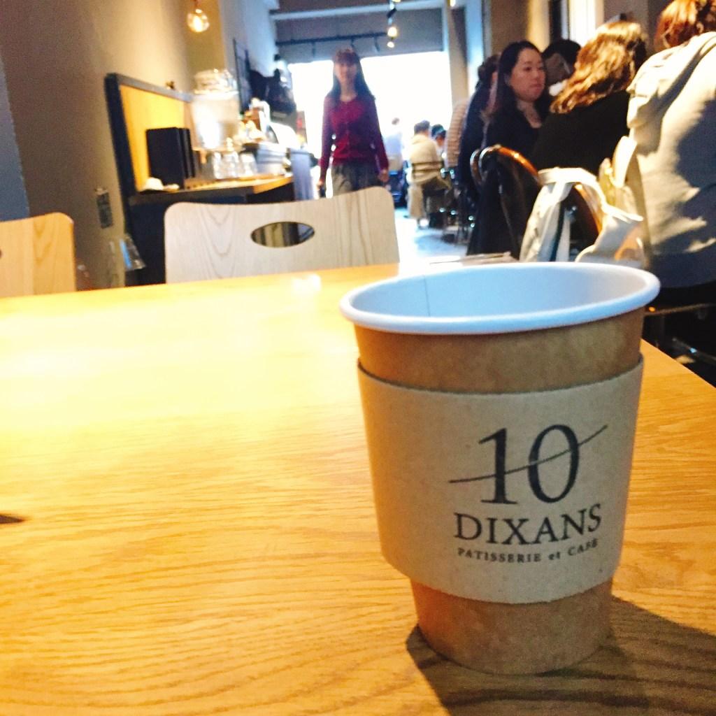 神保町 10 DIXANS ドリンク テイクアウトカップ