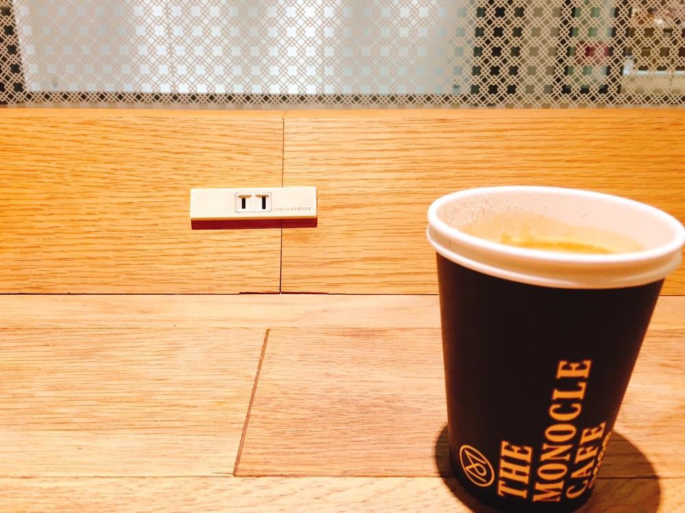カフェ ドリンクテイクアウト カップデザイン THE MONOCLE CAFE