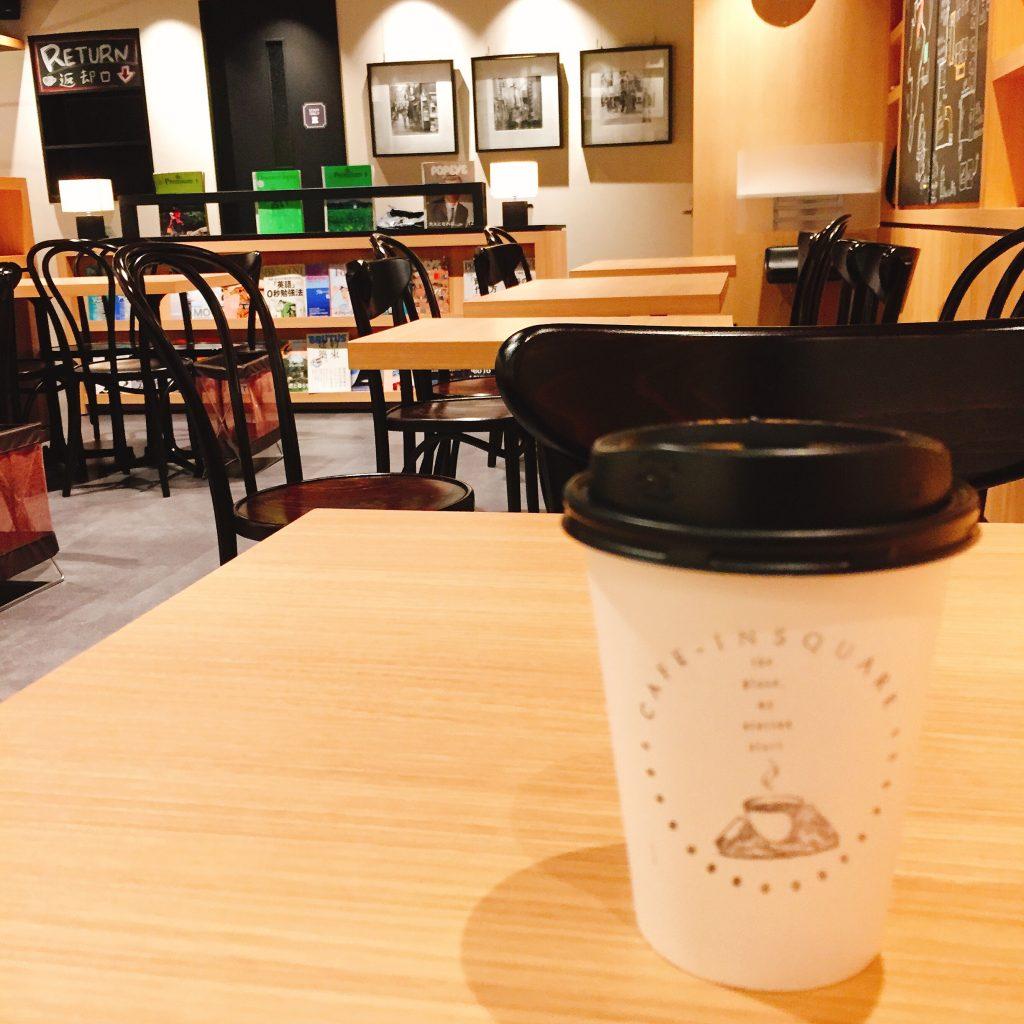 カフェ ドリンクテイクアウト カップデザイン カフェインスクエア