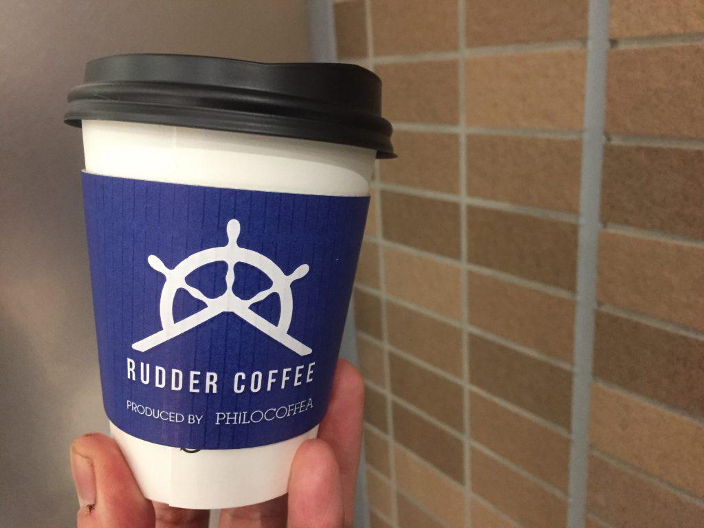 カフェ ドリンクテイクアウト カップデザイン 船橋 RUDDER COFFEE
