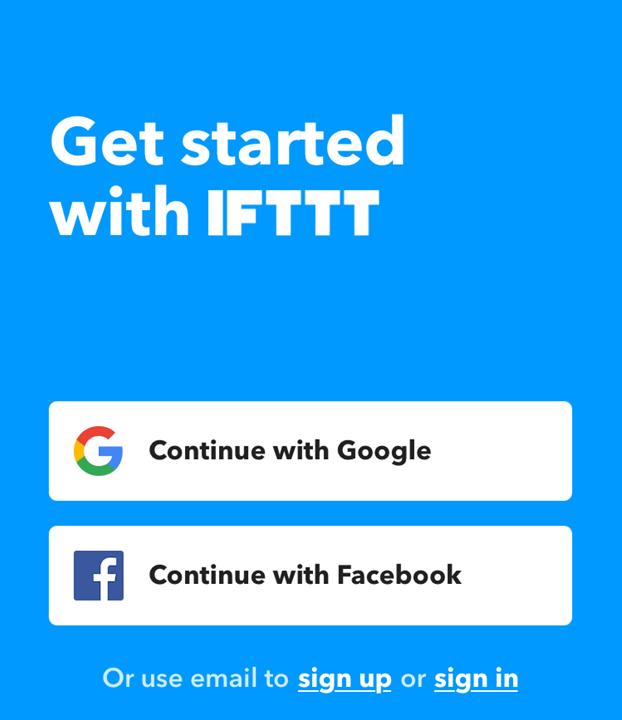 instagram Twitter IFTTT アカウント選択