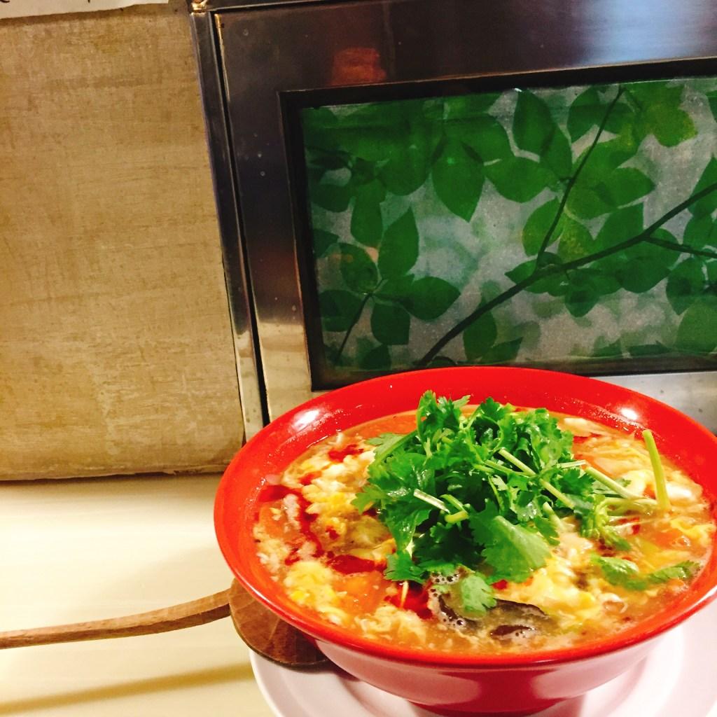 麺割烹亀壱 酸辣湯麺 スーラータンメン