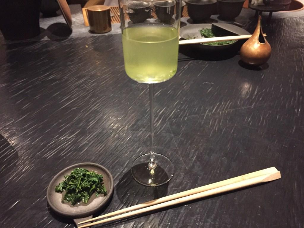 表参道 桜井焙茶研究所 お茶のコース 冷ゆず茶