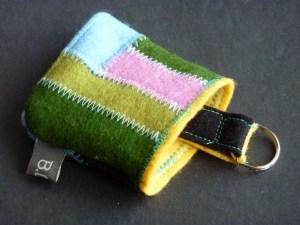 Der Schlüsselsack, 2-farbig oder gepatched