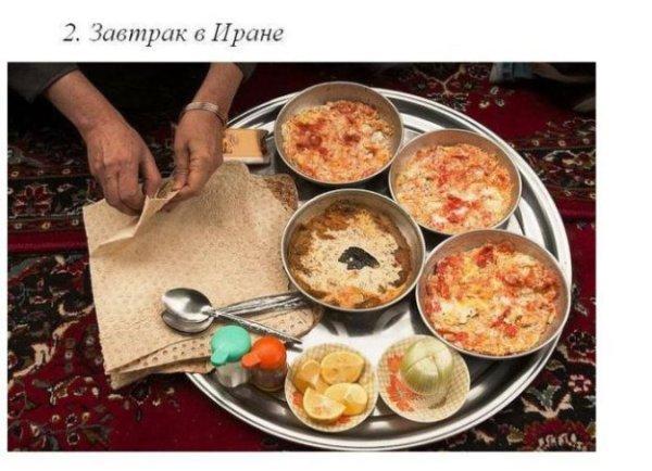 Завтраки разных народов - bigmir)net
