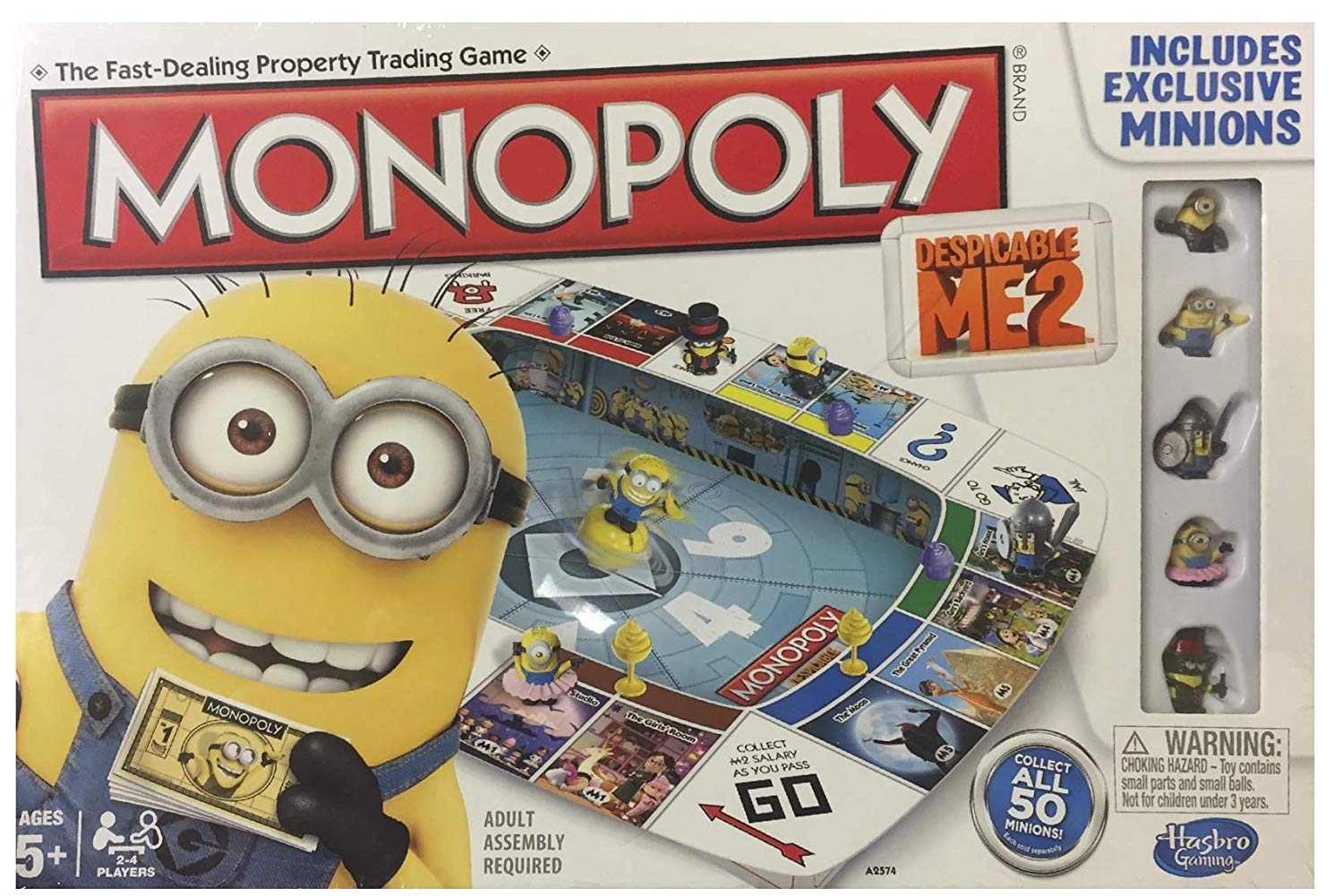Hasbro Monopoly Despicable Me 2 English Language