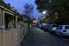 Little Paige Street at night
