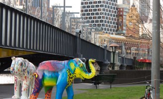 Southbank elephants