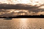 Sunset from Rotoroa Island