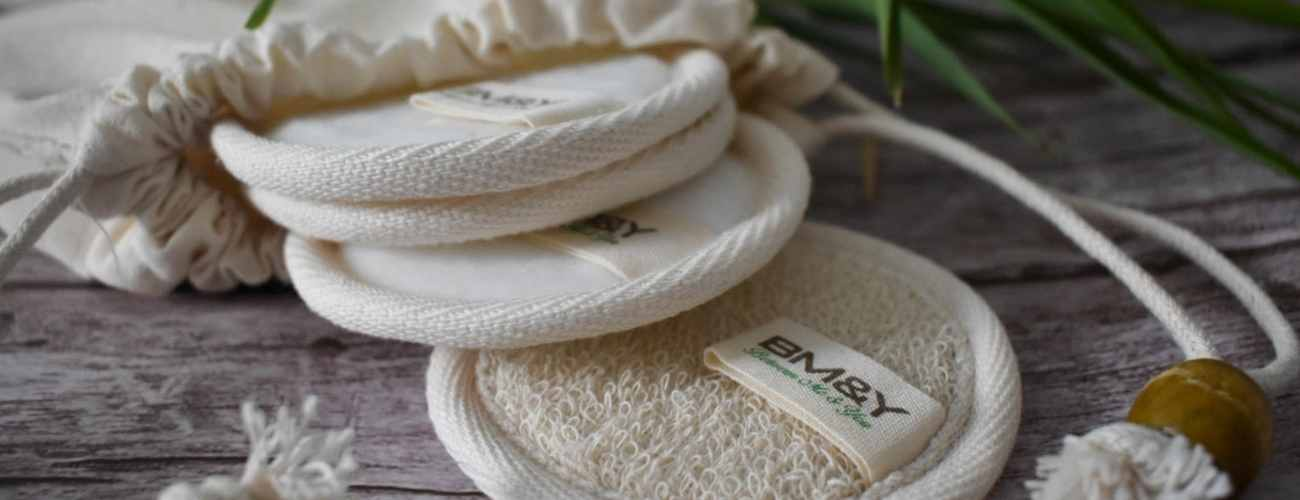 Image of reusable Bamboo Cotton Pads