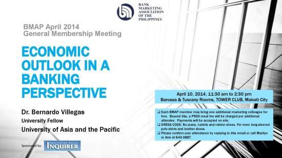 BMAP April 2014 General Membership Meeting