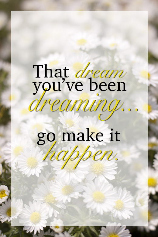 That dream