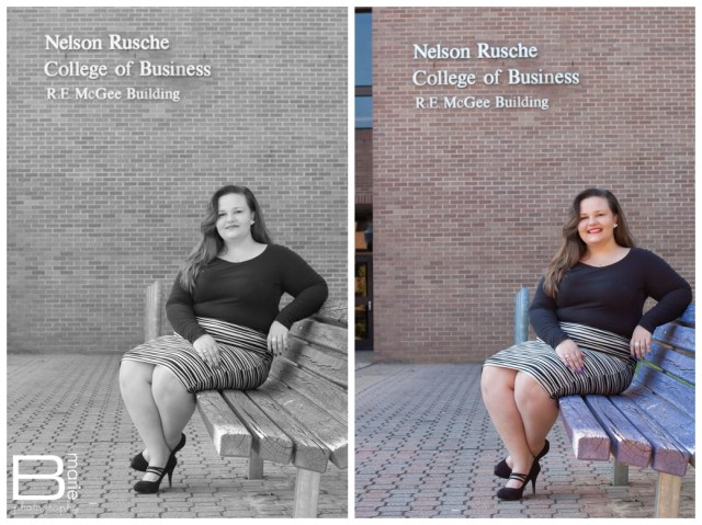 Nacogdoches photographer SFA senior portraits on campus