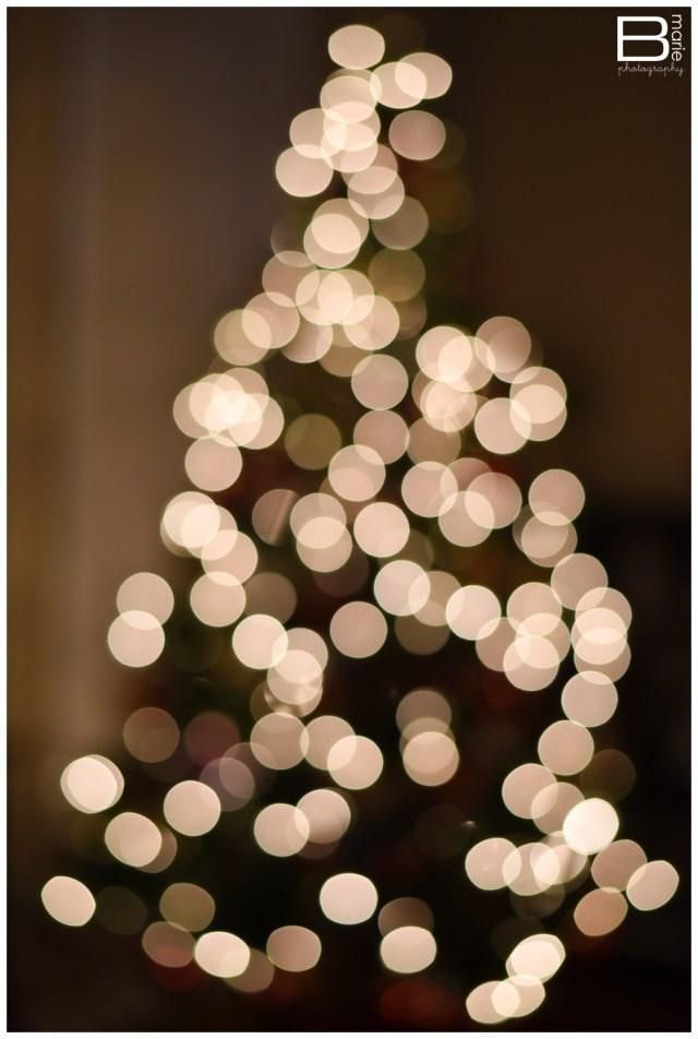 Nacogdoches photographer bokeh Christmas Tree photo