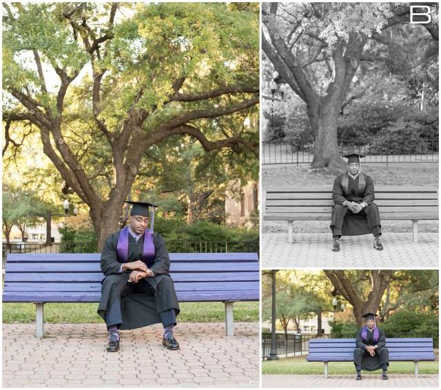 Nacogdoches photographer senior portraits of SFA grad