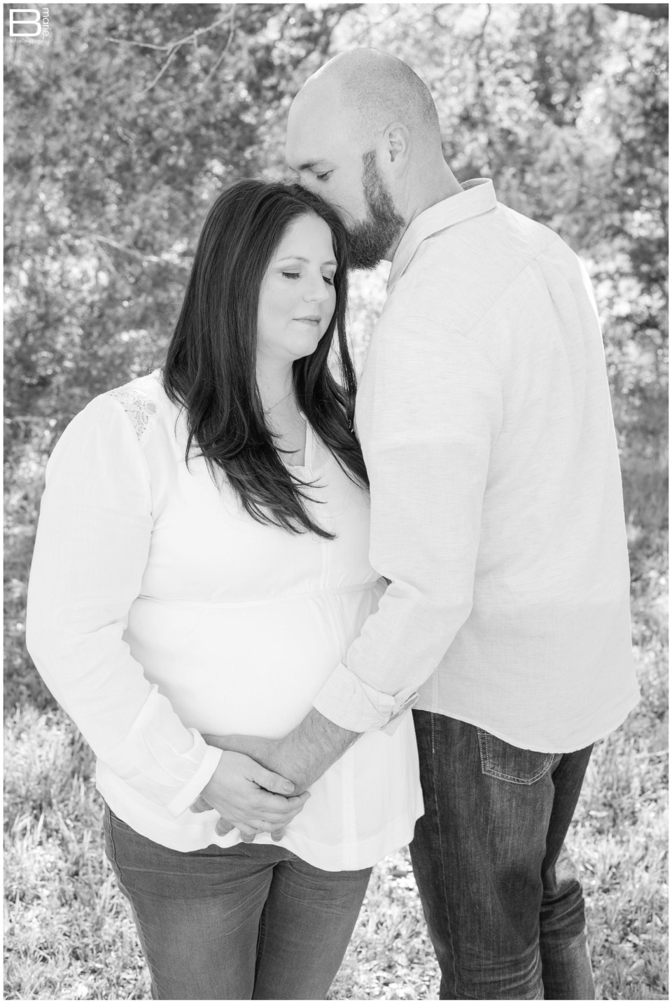Nacogdoches photographer maternity portraits in Central Texas