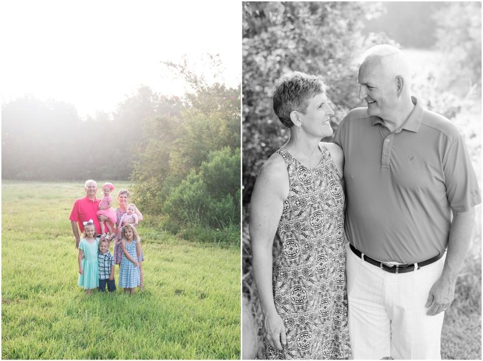 Kingwood family photographer - summertime extended family portrait session