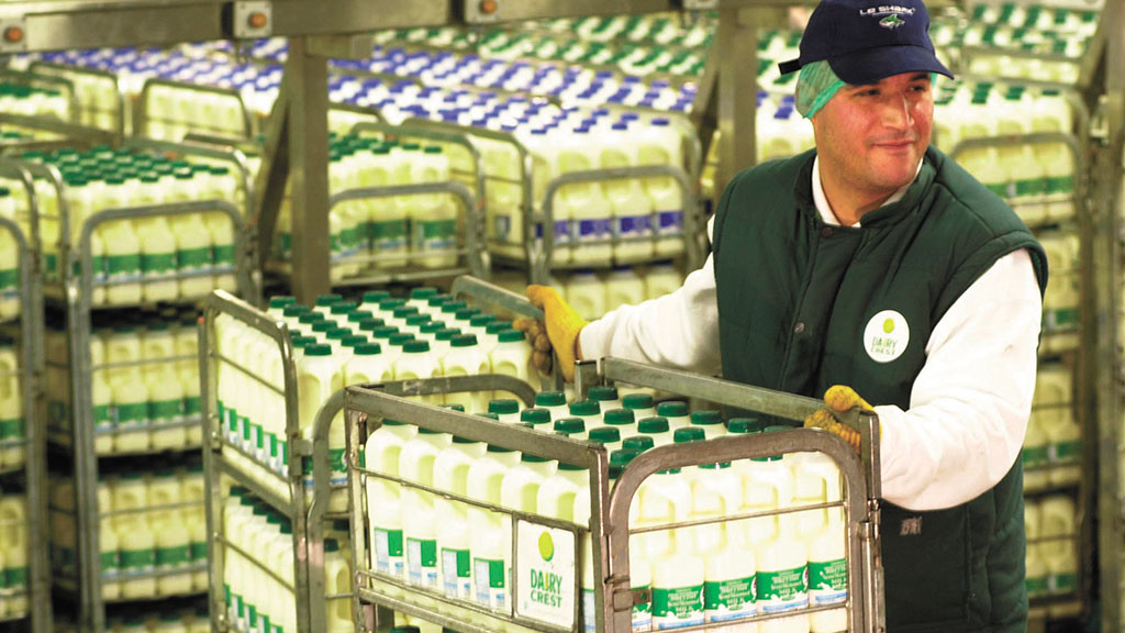 Dairy Crest conditional sale of its dairies division is currently being approved by regulators