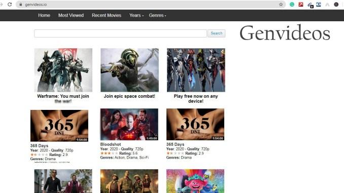 genvideos online movie