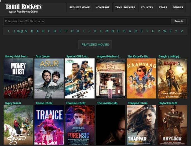Download Bollywood movie By Using Tamilrockers latest url