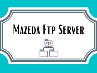 Mazeda Ftp Server