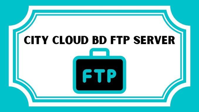 City Cloud BD FTP Server