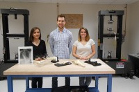 BME senior design team creates unique STEM materials