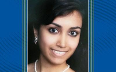 Graduate Student Spotlight: Shalini Sundar