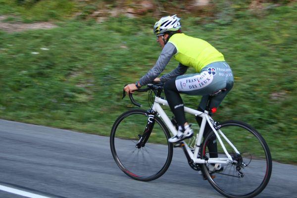 entraînement cyclisme - Giromagny vers Col du Ballon