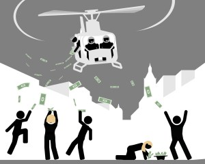 Space Oddity and Helicopter Money | BullionBuzz