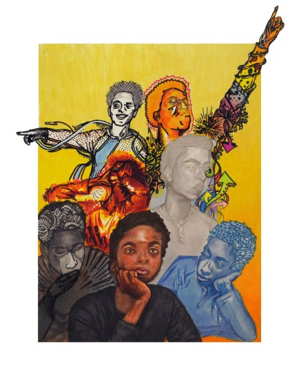 Dashaun Simon, (All in One) Drawing and Illustration-Silver Key )