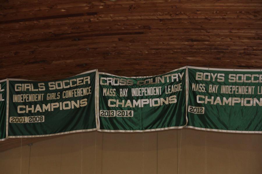 XC Championship Banner Raising