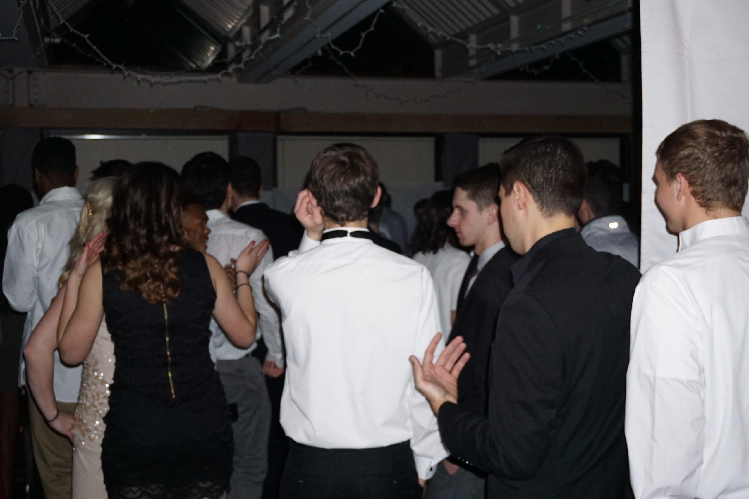 Students+danced+the+night+away+at+the+Annual+Upper+School+Senate-sponsored+Semiformal.