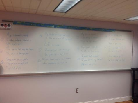 """White Board,"" by Matthew Hastings"