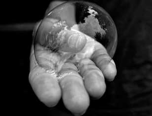 """Zia Angell, Gold Key in Photography """"Bubble"""""""