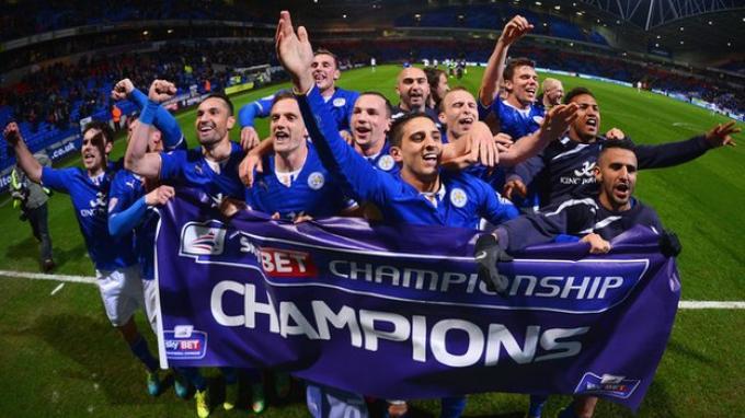 Leicester+City+Wins+League+Title