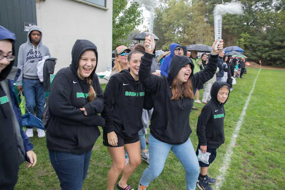 GNN: Rain Can't Stop Homecoming Spirit