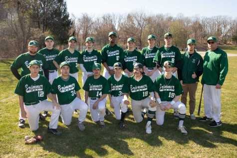 Last year's varsity baseball team, comprised of middle and high school students.