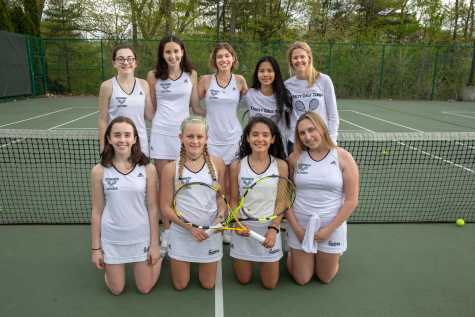 V. Girls Tennis Wins Championship, Goes Undefeated
