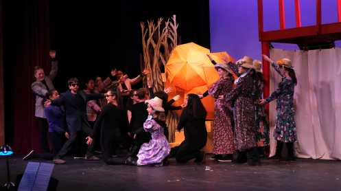 James and the Giant Peach. Photo by Michelle Levinger '19.