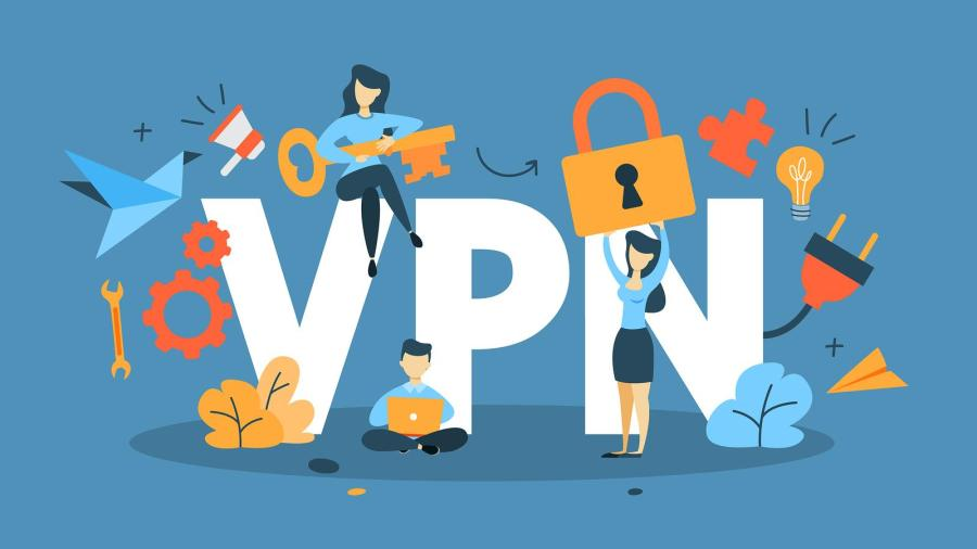 VPN illustration purchased from BigStock.com.